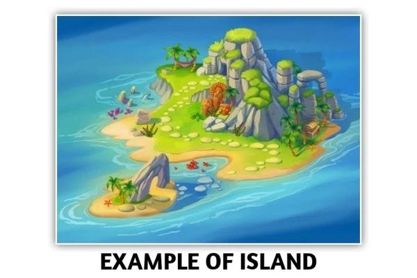 द्वीप किसे कहते हैं - what is island in hindi