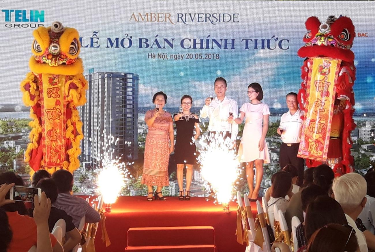 Hình ảnh tại sự kiện mở bán căn hộ cao cấp Amber Riverside 622 Minh Khai