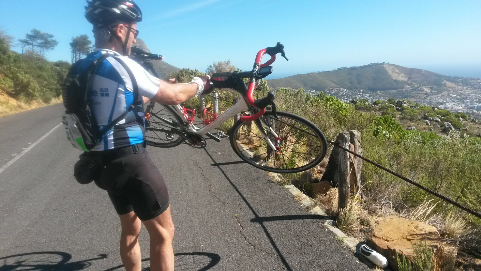 Argus Cycle Tour  Wind