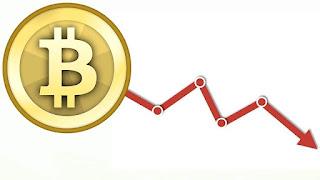 Почему биткоин падает в цене?