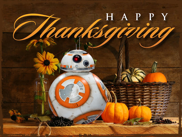 star wars thanksgiving bb8