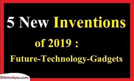 Future Technology Gadgets: