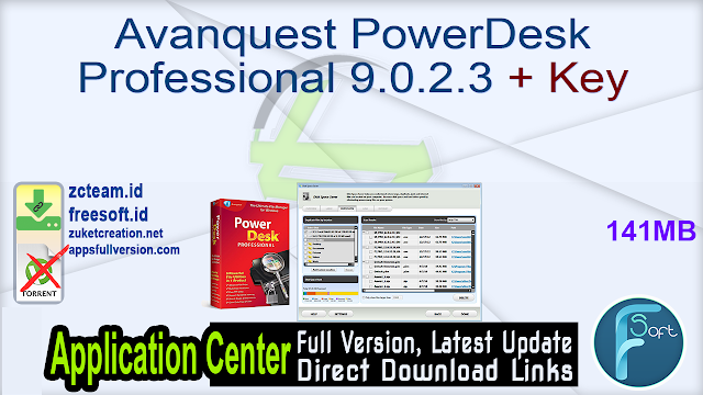 Avanquest PowerDesk Professional 9.0.2.3 + Key_ ZcTeam.id