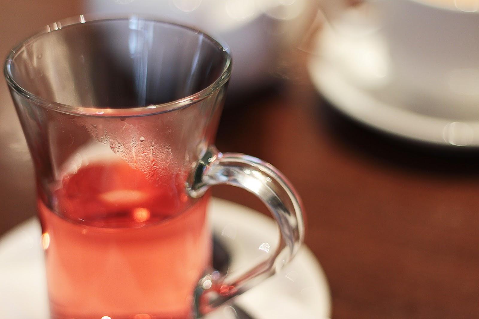 andrews cafe tea rooms sheffield raspberry elder-flower tea