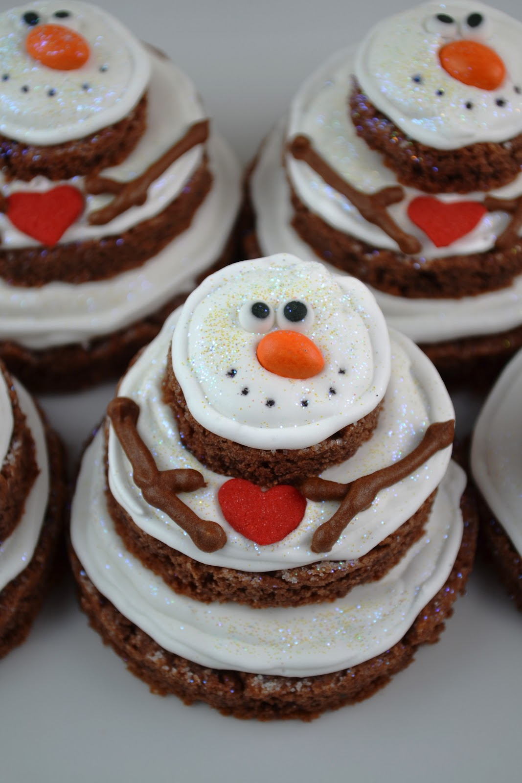 Sweetology: Lumpy Bumpy Stacked Snowmen Cookies ~ A ...