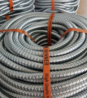 ท่อเฟล็กซ์เหล็ก Flexible Metal Conduit