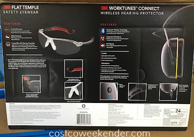 Costco 1181513 - 3M Worktunes Connect Wireless Hearing Protector: never underestimate the value of protecting your hearing