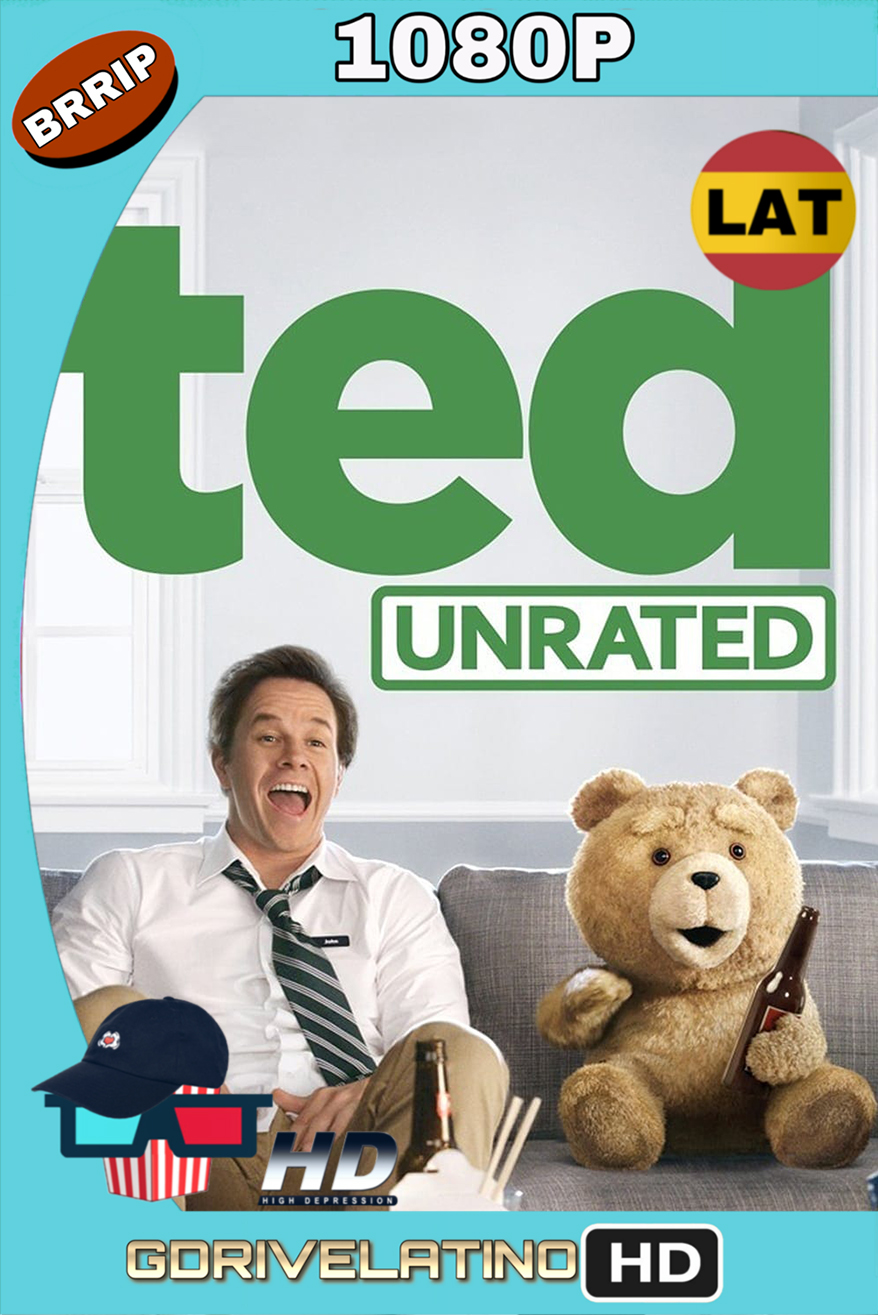 Ted (2012) (UNRATED) BRRip 1080p (Latino-Inglés) MKV