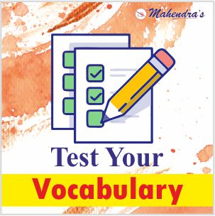 Test Your Vocabulary For All Competitive Exams| 08-10-19