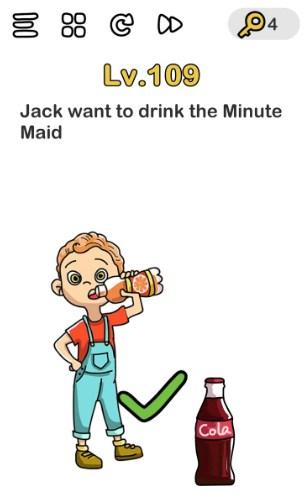 Jack Ingin Minum Jus Jeruk : ingin, minum, jeruk, Kunci, Jawaban, Brain, Ingin, Minum, Galeri