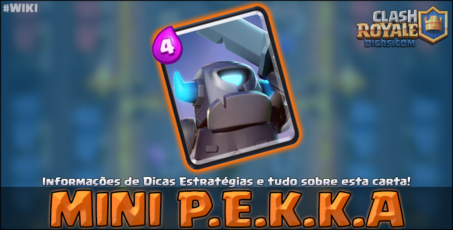 Carta do Mini P.E.K.K.A em Clash Royale