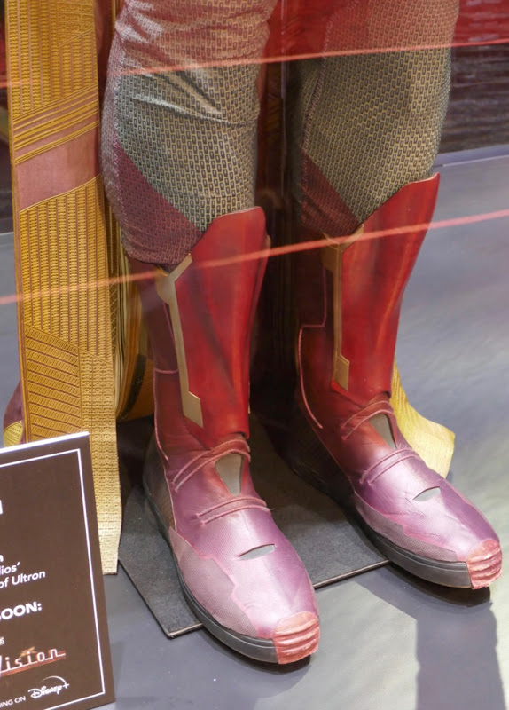 Avengers Vision movie costume boots