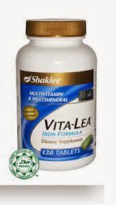vitalea shaklee set gemuk
