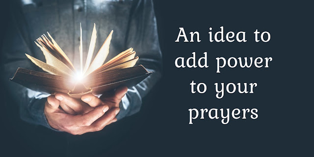 If you've never tried adding this to your prayer life, you'll be pleased with the power and wisdom it gives.