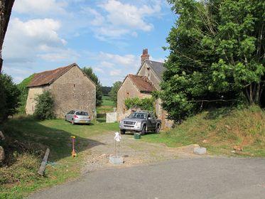 Gated entrance, gates in France, Gated manoir,