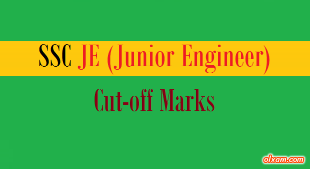 SSC JE Paper-I Cut-off for All Branches