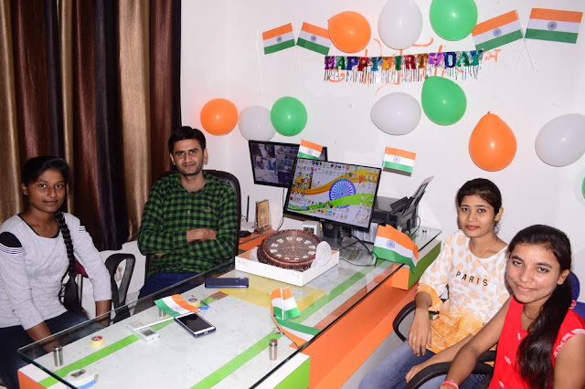 The Jayhooo Infotech Birthday Time