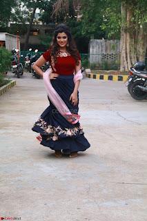 Actress Aathmika in lovely Maraoon Choli ¬  Exclusive Celebrities galleries 052.jpg