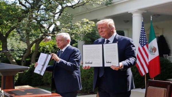Presidentes de México y EE.UU. destacan que T-MEC fortalecerá economía de la región