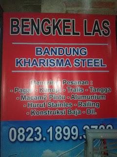 Bengkel las bandung KHARISMA STEEL