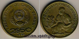 CAPE VERDE COINS 5-100 ESCUDOS OLD COLLECTIBLE COINS FROM AFRICA