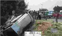 بالاسماء 18 مصاب في حادثة انقلاب مقرباص المنيا اليوم