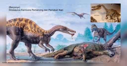 baryonyx, dinosaurus pemancing ikan