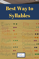 Teach Magically Segmenting Syllables Pin