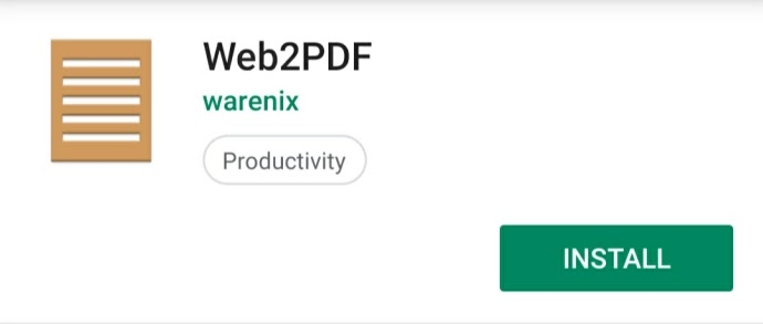 Download web2pdf