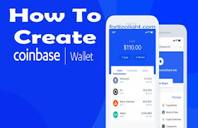 how to create a wallet on coinbase
