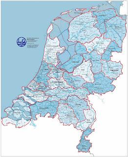 Nederland, overzicht gemeenten en waterschappen
