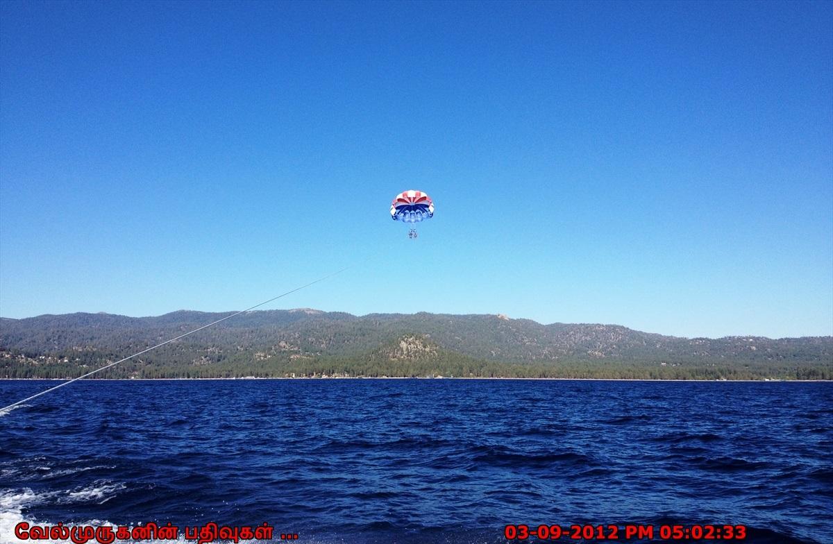 Parasailing In Lake Tahoe Exploring My Life