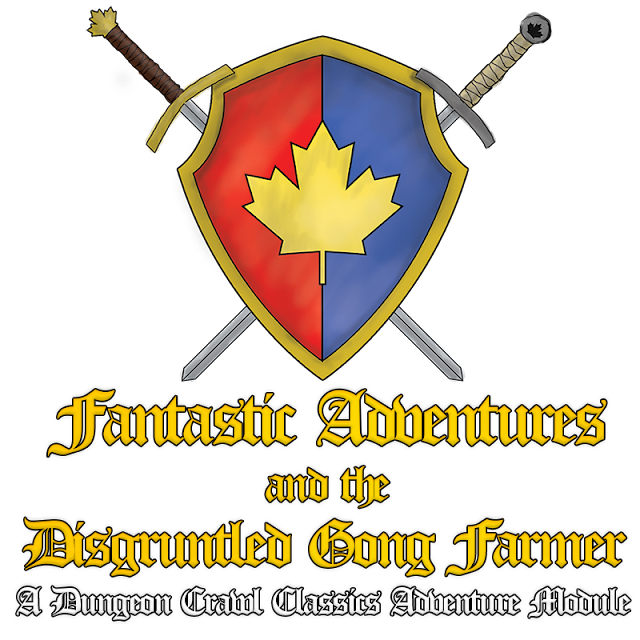 Fanastic Adventures & the Disgruntled Gong Farmer