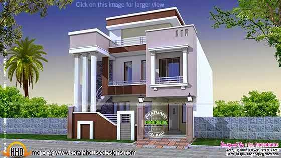 Cute modern villa
