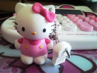 Model Flashdisk Hello Kitty Yang Lucu Dan Unik