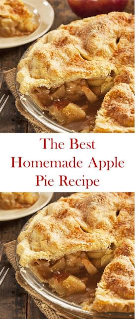 The Best Homemade Apple Pie Recipe