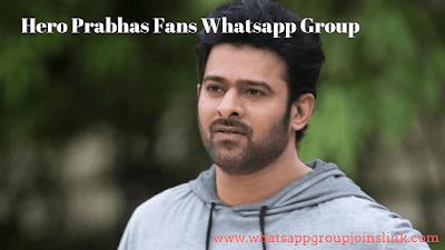 Join New Hero Prabhas Fans Whatsapp Group Links   New Prabhas Fans Whatsapp Group Joins Link 2019