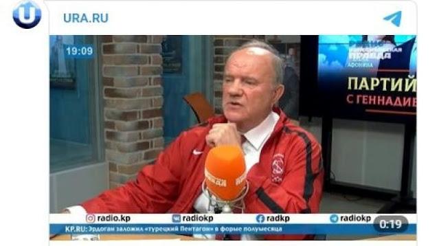 Heboh Ketua Partai Rusia Sebut Yesus sebagai Komunis Pertama