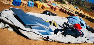 عاجل وبالصور..حجز 3 أطنان و700 كلغ من مخدر الحشيش وزورق مطاطي مزود بمحركين بضواحي اثنين شتوكة بإقليم أزمور✍️👇👇👇