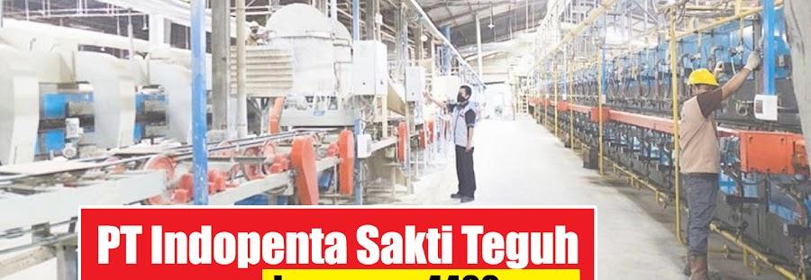 Lowongan Kerja PT Indopenta Sakti Teguh Gunung Putri Bogor