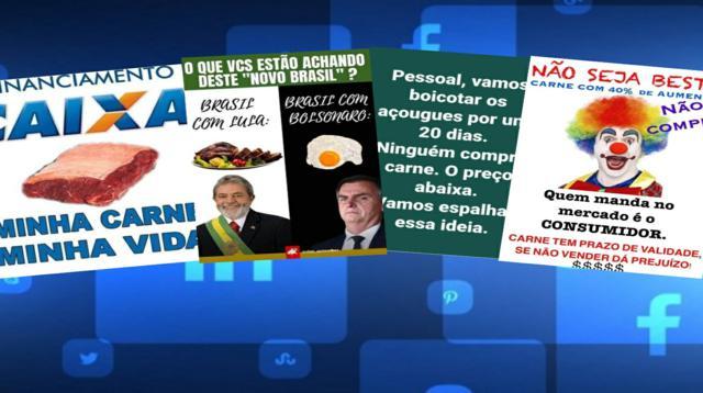Nas redes sociais bolsonaristas perdem confronto com petistas quando o assunto é carne