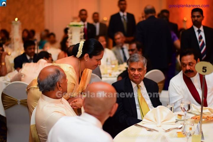 Shashindra rajapaksa wedding venues