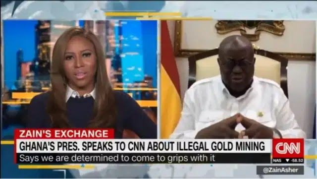 We are fixing the country - Prez. Akufo Addo speaks on CNN || VIDEO