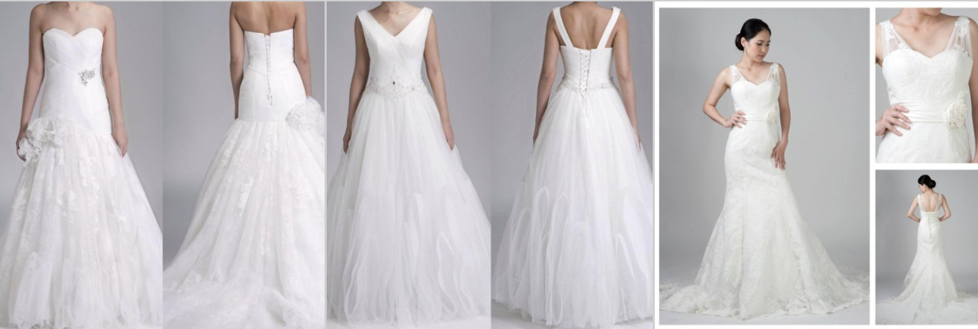 Wedding Gown/ Attire Inspiration, Samples & Price Guide
