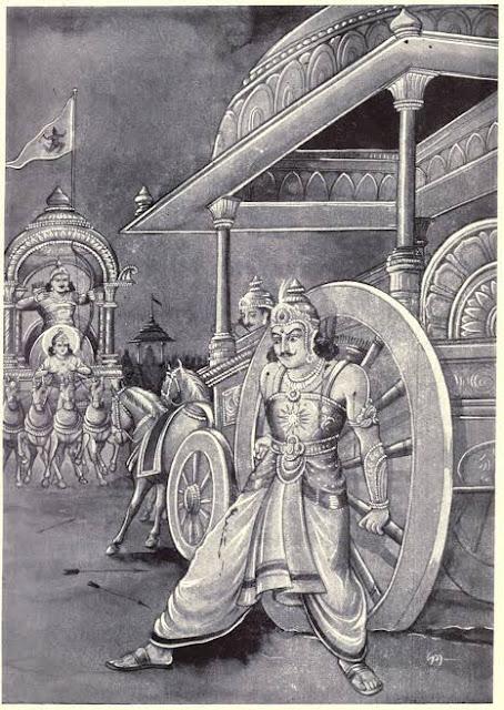 भगवान परशुराम ने कर्ण को श्राप