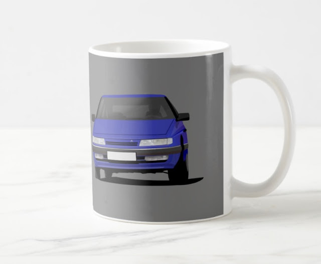 Citroen XM coffee mugs