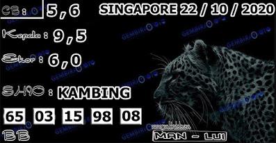 Kode syair Singapore Kamis 22 Oktober 2020 160