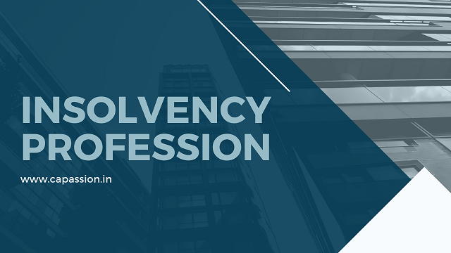 Insolvency Profession & Insolvency Professional Course
