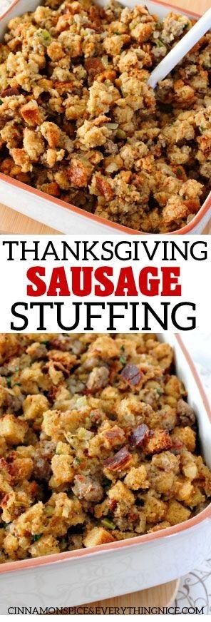 Homestyle Sausage Stuffing