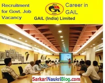 Government Jobs in GAIL India